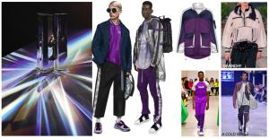Ilustrasi tampilan dan warna Tech Forward