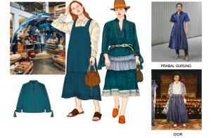Ilustrasi tampilan dan warna Heritage